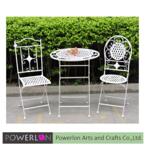 Wrought Iron Garden Table Sets (PL08-6926) pictures & photos