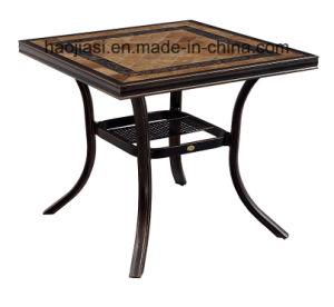 Outdoor /Rattan / Garden / Patio / Hotel Furniture Cast Aluminum Chair & Table Set (HS 1186C &HS 7132DT) pictures & photos