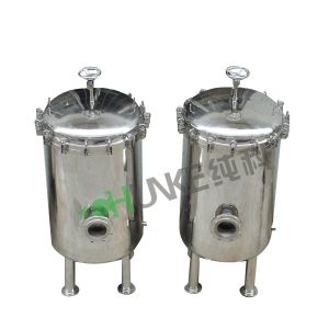 Chunke Stainless Steel Cartridge Filter Housing for Water Treatment pictures & photos