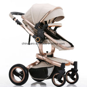 2017 New Design Luxury Fold Baby Strollers with European Standard pictures & photos