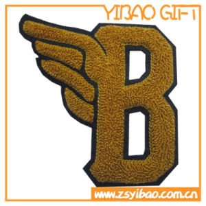 Embroidery Custom Logo Fuzzy Patch for Clothing (YB-pH-13) pictures & photos