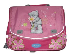 Candy Color Children Polyester School Student Backpack Bag pictures & photos