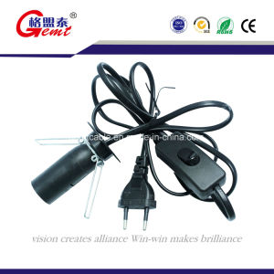 EU/UK/Us/Au Salt Lamp Power Cord with 303 Switch pictures & photos
