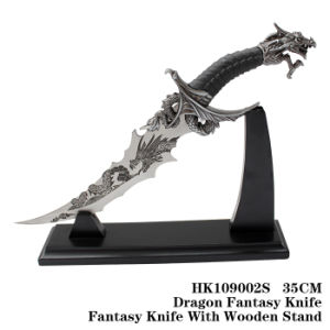 Dragon Knife Metal Craft Fantasy Knife Home Adornment 55cm pictures & photos