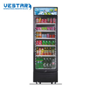 Outside Compressor &Handle Upright Showcase Mini Refrigerator pictures & photos