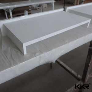 Waterproof White Marble Pure White Solid Surface Countertop pictures & photos