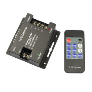DC12V~24V RF 11 Key Iron Shell LED Remote Dimmer pictures & photos