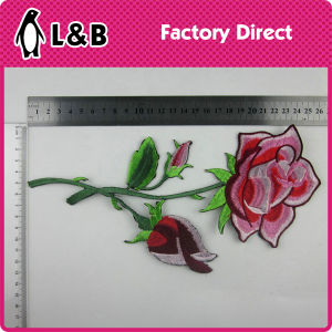 2017 Fashion 3D Personalized Clothing Iron on Embroidery Flower Patches pictures & photos