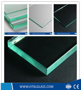 Clear Float Glass/Toughened Laminated Glass/Colored Reflective Patterned Glass pictures & photos