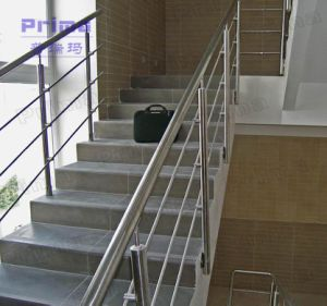 Terrace Railing Design Stainless Steel Glass Balustrade Tempered Glass Railing Handrail Manufacturer pictures & photos