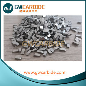 Cemented Carbide Saw Tips Process Steel and Aluminum pictures & photos
