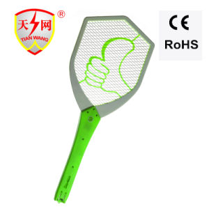 High Voltage Rechargeable Mosquito Bat with Cleaning Brush pictures & photos