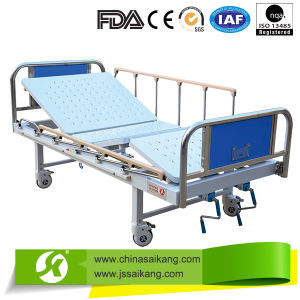 ICU Medical Equipment Hospital Bed with CPR Function pictures & photos