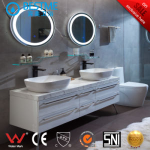 Modern Stainless Steel Bathroom Cabinet From China (BY-X7091) pictures & photos