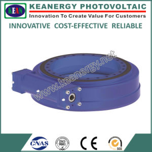 """ISO9001/CE/SGS 21"""" Single Axial Worm Drive Slewing Drive pictures & photos"""