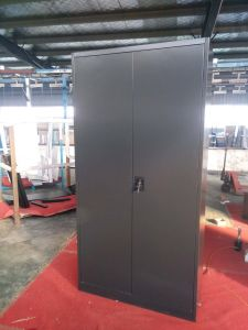 2016 on Sales Black Metal Full Height Storage Steel File Cabinet pictures & photos
