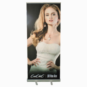 Light-Weight Vinyl/ PVC Roll up Display Banner Stand for Promotion Advertising pictures & photos