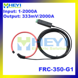 Clip on Design Flexible Rogowski Coil Current Sensor Frc-350-G1 with Integrator 333mv Output pictures & photos