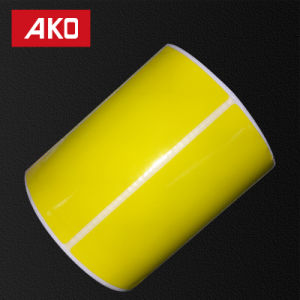 """2""""4"""" (50.8mm*101.6mm) Self Adhesive Sticker Label Thermal Transfer Paper Layer Pre-Printed Sticker pictures & photos"""