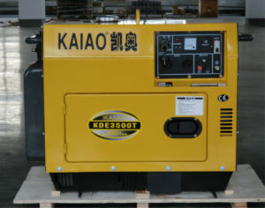 Factory Price 3kw Diesel Silent Generator with CE, ISO Hot Sale! pictures & photos