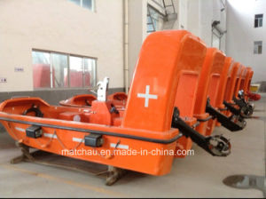 Solas FRP Rescue Boat with Davit for Sale pictures & photos