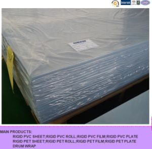 1.0mm Rigid PVC Transparent Sheet for Offset Printin pictures & photos