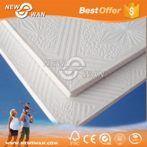 60X60 Suspended Coated Gypsum Ceiling Tiles pictures & photos