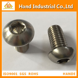 A4 Stainless Steel Button Head Cap Screw (ISO7380) pictures & photos