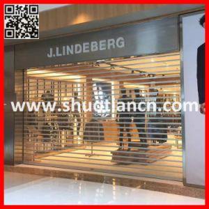 Polycarbonate Shop Front Roller Shutter Door (ST-002) pictures & photos
