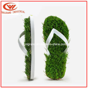 2016 Summer Imitation Grass Flip Flops Fashion Slippers for Men and Women pictures & photos