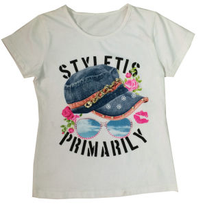 Fashion Kids Girl T-Shirt in Children′s Clothing pictures & photos
