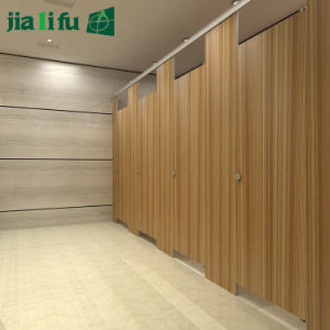 Jialifu HPL Public Phenolic Office Toilet Partition pictures & photos