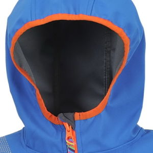 Boys Clothing Kids Wear Sport Fit Softshell Jacket pictures & photos