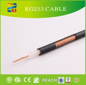 50ohm PVC Jacket High Quality Coaxial Cable Rg213 (CE, ETL, RoHS, REACH, UL Approved) pictures & photos