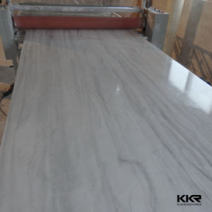 White Color 12 mm Acrylic Stone Solid Surface Wall Panel pictures & photos