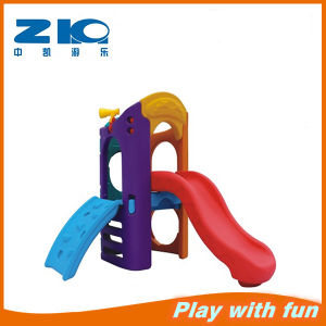 China Cheap Kids Plastic Slide Playground pictures & photos