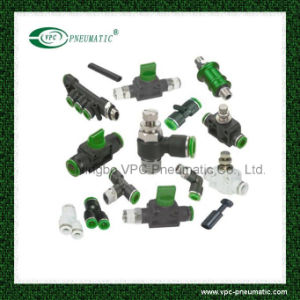 Pneumatic Connector Pneumatic Fitting One Touch in Fitting Conectores Rectos SMC pictures & photos