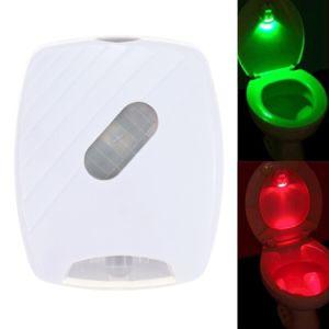 LED Sensor Motion Activated Toilet Light Automatic Night Light pictures & photos