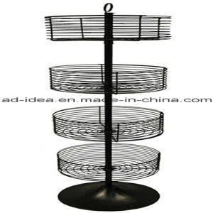Fashionable Retail Store Round Metal Display/ Display for Ornaments, Cosmetics pictures & photos