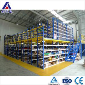 2 Levels Powder Coating Warehouse Mezzanine Rack pictures & photos