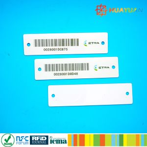 EPC1 GEN2 Alien9662 H3 RFID UHF clothing garment Apparel Tag pictures & photos