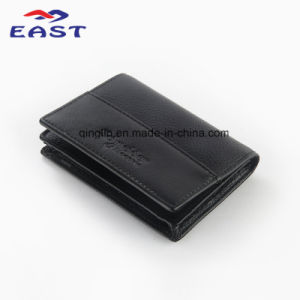 Promotional PU Leather Card Package with Custom Logo pictures & photos