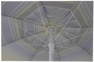 3.2FT Beach Umbrella, Sun Umbrella, Sripe Polyester with Sliver, pictures & photos