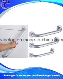 Hollow Tube/Glass and Wooden Door Pull Handle pictures & photos