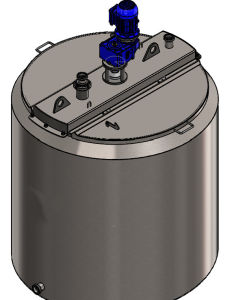 Water Cooling and Heating Tank Ice Cream Tank Tank Supplier pictures & photos