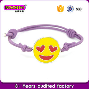 Wholesale Metal Silver DIY Enamel Charms Bracelet pictures & photos