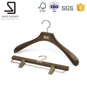 Antique Wooden Clothes Hanger for Men, Wooden Pants Hanger pictures & photos