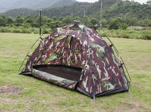 Double Layer Military Outdoor Camping Tent (EDT-007) pictures & photos