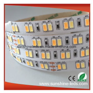 Double Color Flexible, Samsung LED Waterproof 5630 LED Strip pictures & photos