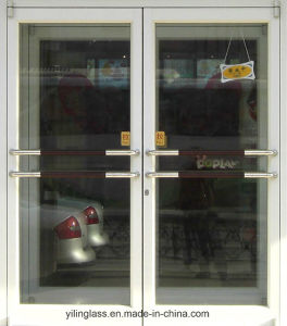 Sound Thermal Insulation Commercial Design Aluminum Casement Door pictures & photos